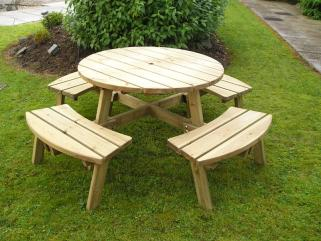 8 Seater Picnic Bench